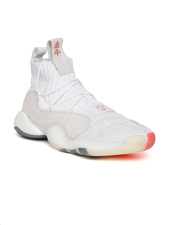 best website ab5b0 2653f Adidas Originals Men Off-White Crazy BYW X Sneakers