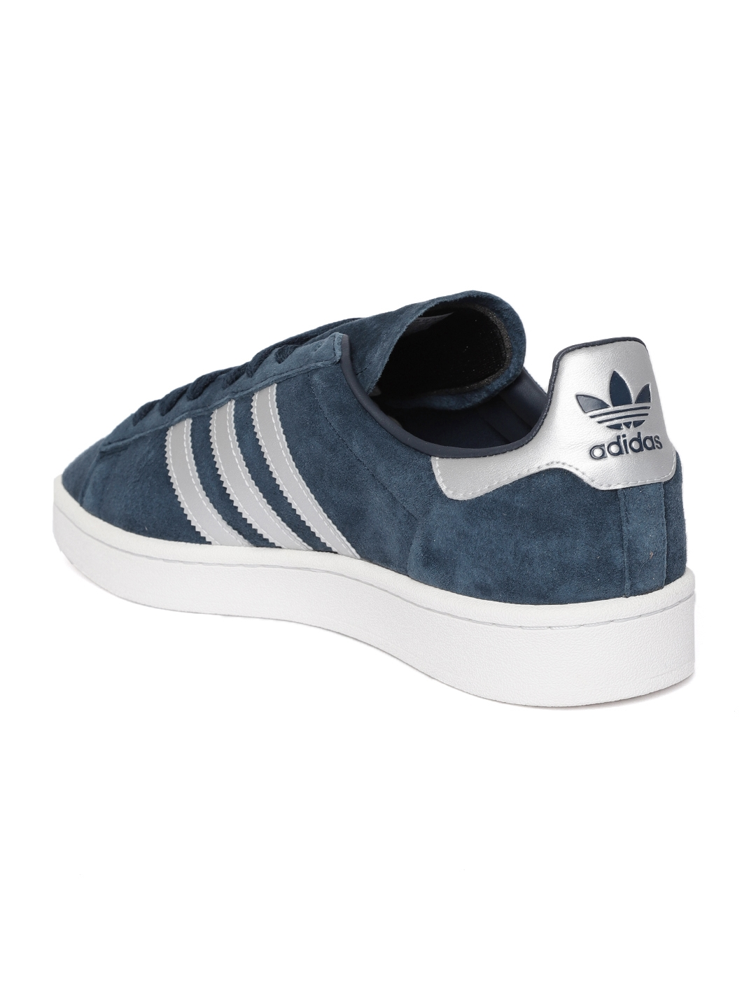 premium selection ad0c3 48565 Adidas Originals Men Navy Campus Nubuck Leather Sneakers