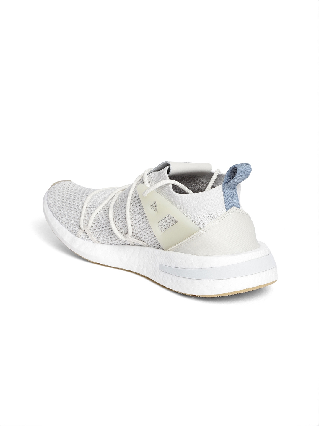 b80993dcab2 Buy ADIDAS Originals Women Off White ARKYN Primeknit Sneakers ...