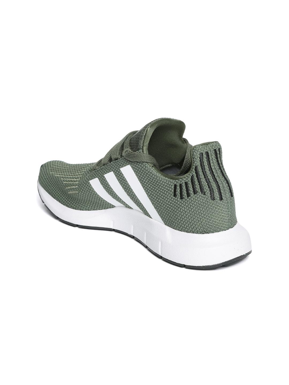 7e7b4703a Adidas Originals Women Olive Green Swift Run Woven Design Sneakers