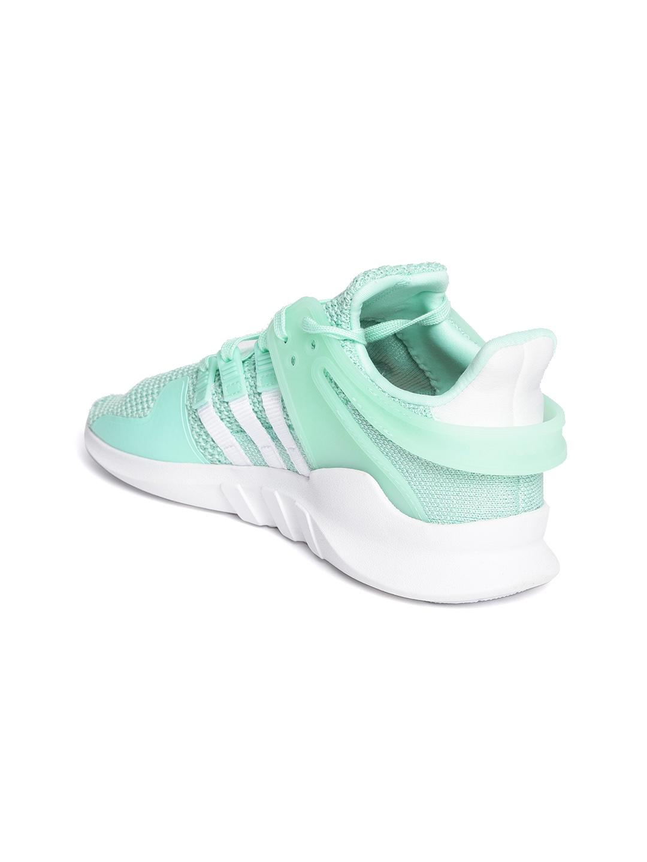 a355e3f77906 Adidas Originals Women Mint Green EQT Support ADV Woven Design Sneakers