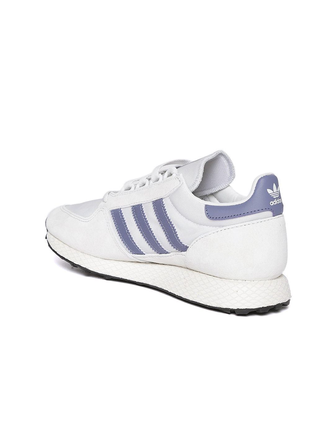 487d7d295be6 Buy ADIDAS Originals Women Off White Forest Grove Suede Sneakers ...