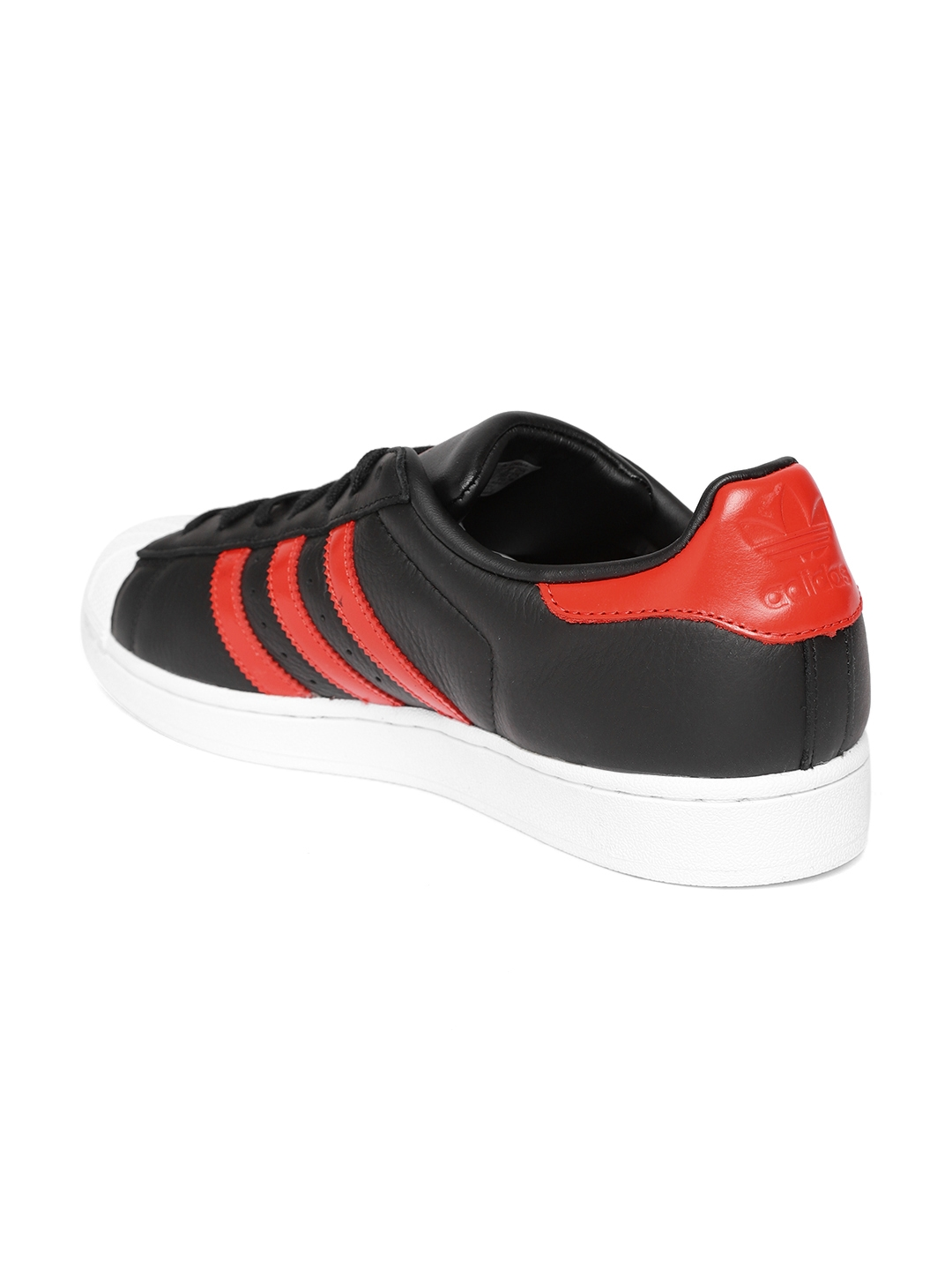 a7d787d2e Buy ADIDAS Originals Men Black Leather Superstar Sneakers - Casual ...