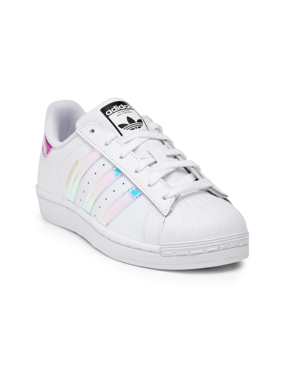 new styles 89725 15c3d ADIDAS Originals Kids White Superstar Sneakers