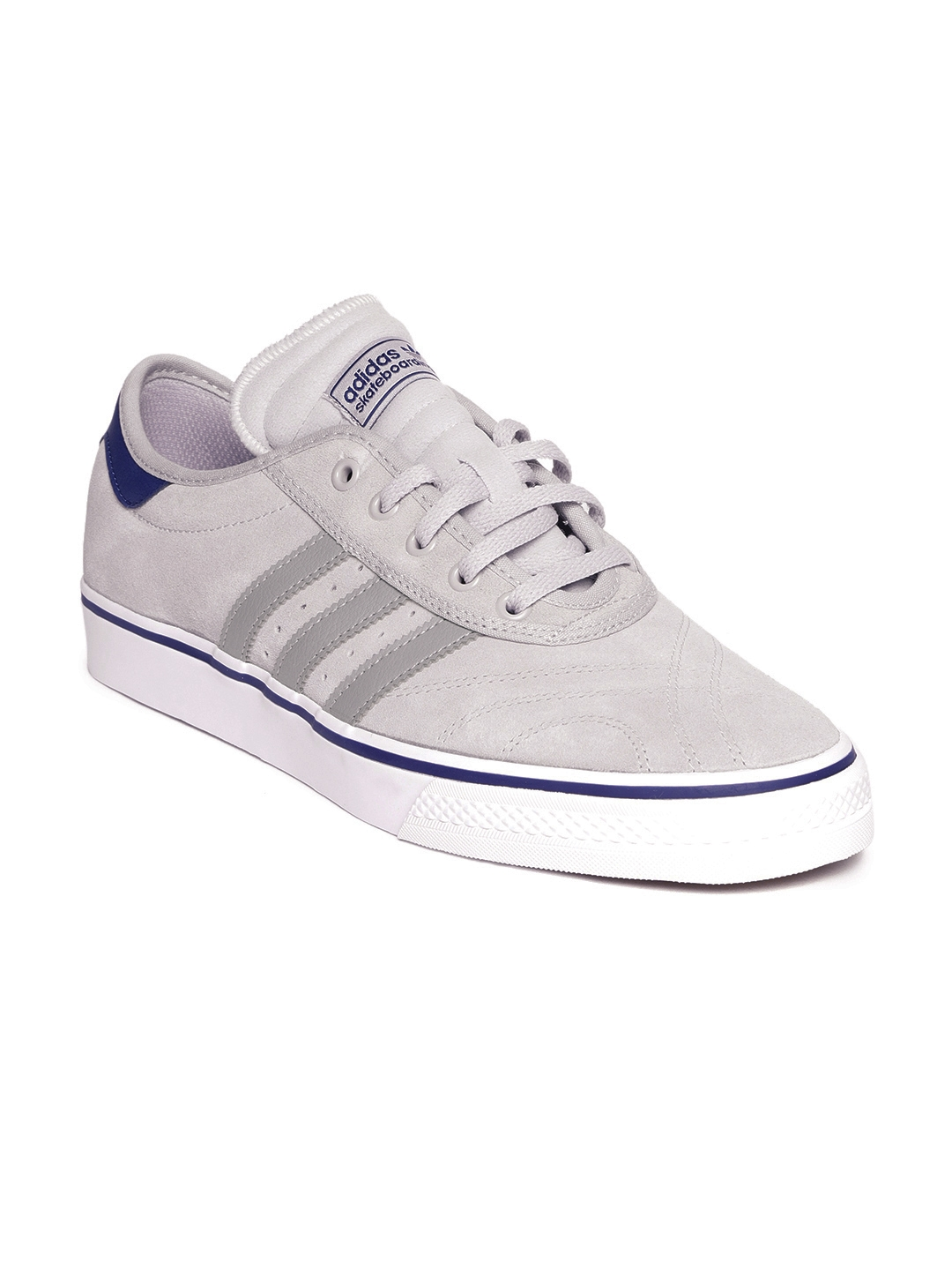 huge discount a7f6f 8731d Buy ADIDAS Originals Men Grey Adiease Premiere Suede Skateboarding Shoes -  Sports Shoes for Men 6842509   Myntra