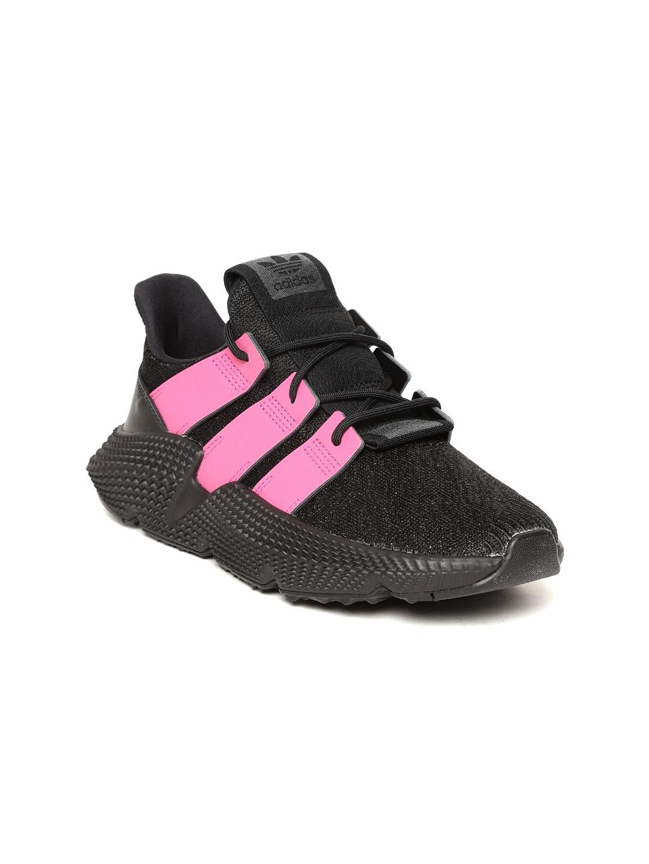 Adidas Originals Women Black   Pink PROPHERE Colourblocked Sneakers 0353e3bec1a9