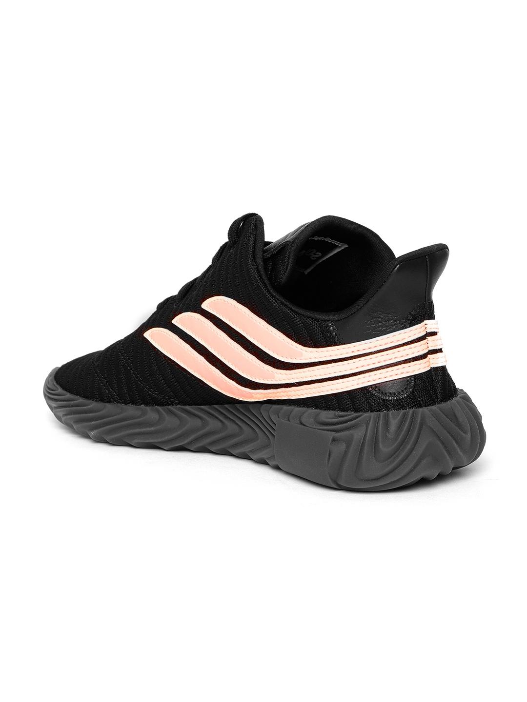 3ee51918a0e Buy ADIDAS Originals Men Black   Peach Coloured SOBAKOV Sneakers ...
