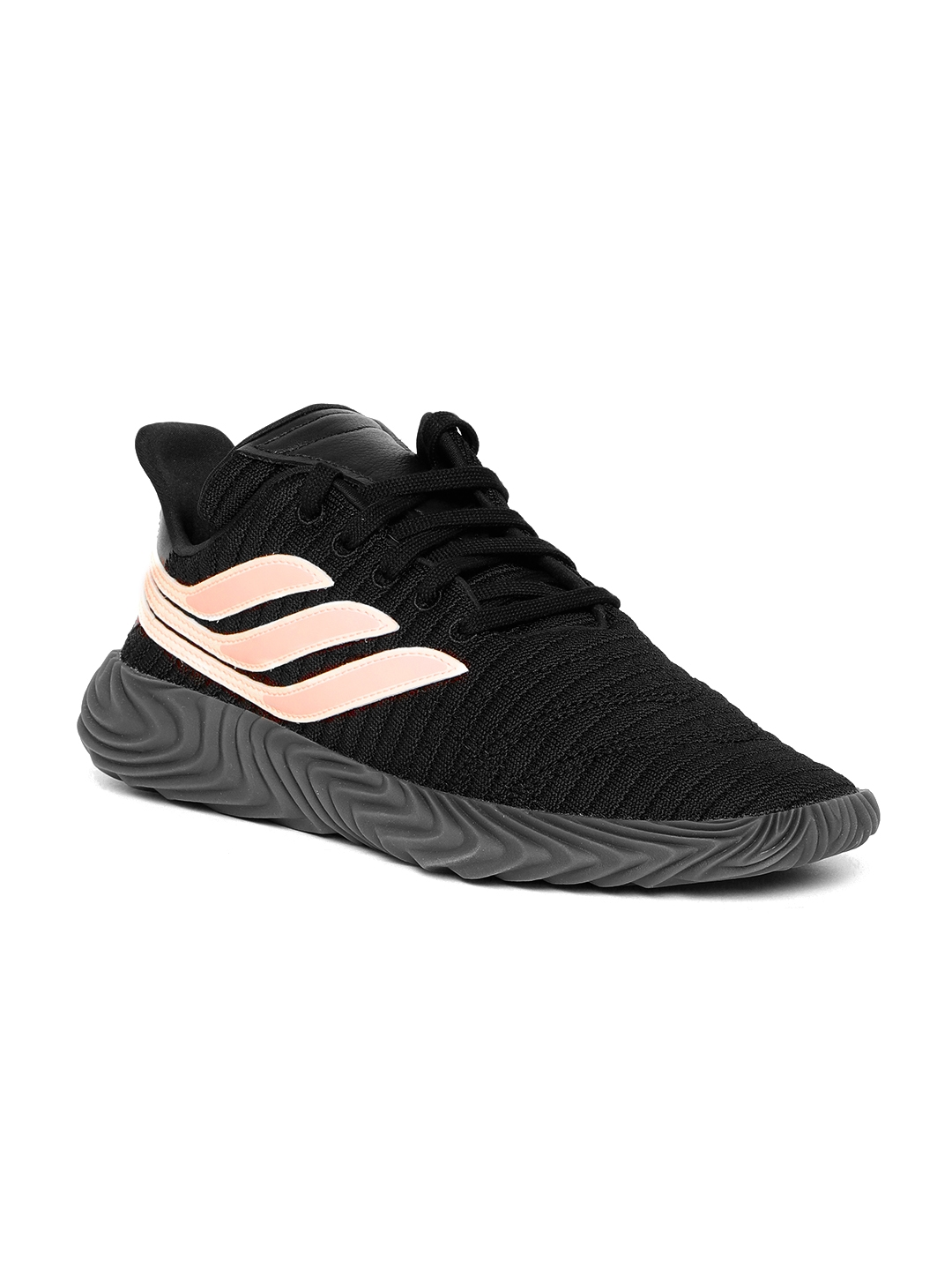 pick up 70e50 65e7d ADIDAS Originals Men Black  Peach-Coloured SOBAKOV Sneakers