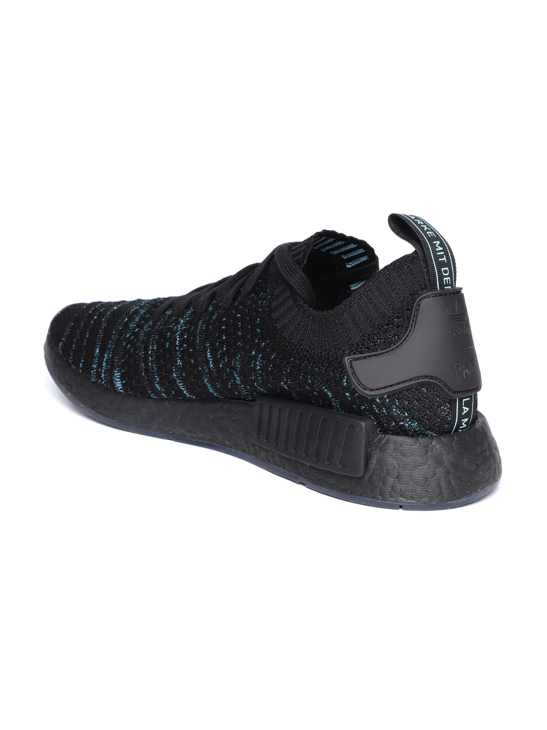 f6af8abcdce6d Buy ADIDAS Originals Men Black   Blue NMD R1 STLT Parley PK Sneakers ...