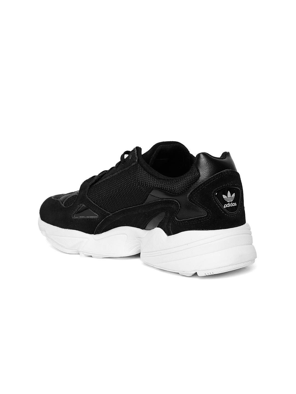 39ba4e5e997b Buy ADIDAS Originals Women Black Falcon Sneakers - Casual Shoes for ...