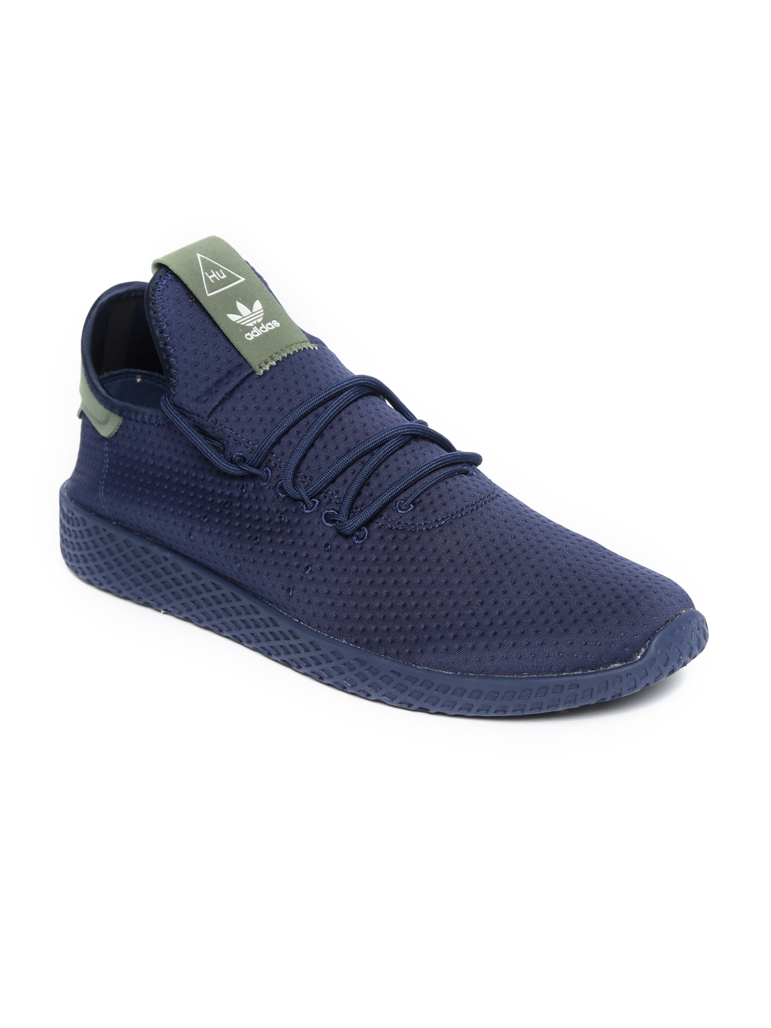 7c08f51e25 ADIDAS Originals Men Navy Blue Pharrell Williams Tennis HU Sneakers