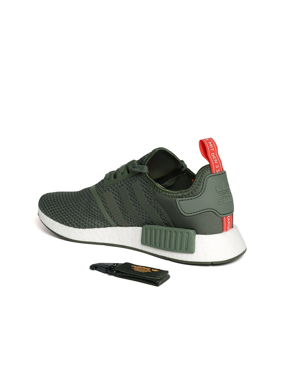 e5cff8c5a Buy ADIDAS Originals Men Olive Green NMD R1 Casual Shoes - Casual ...