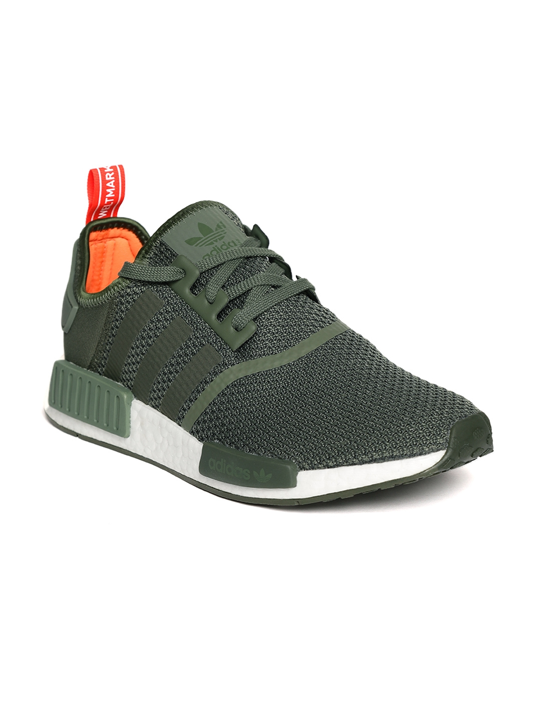 c1137f1519a9b Buy ADIDAS Originals Men Olive Green NMD R1 Casual Shoes - Casual ...