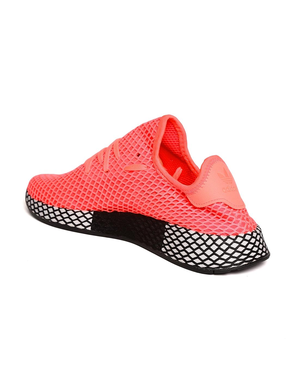 0d59ee12d2be4 Buy ADIDAS Originals Men Neon Pink DEERUPT Running Shoes - Sports ...