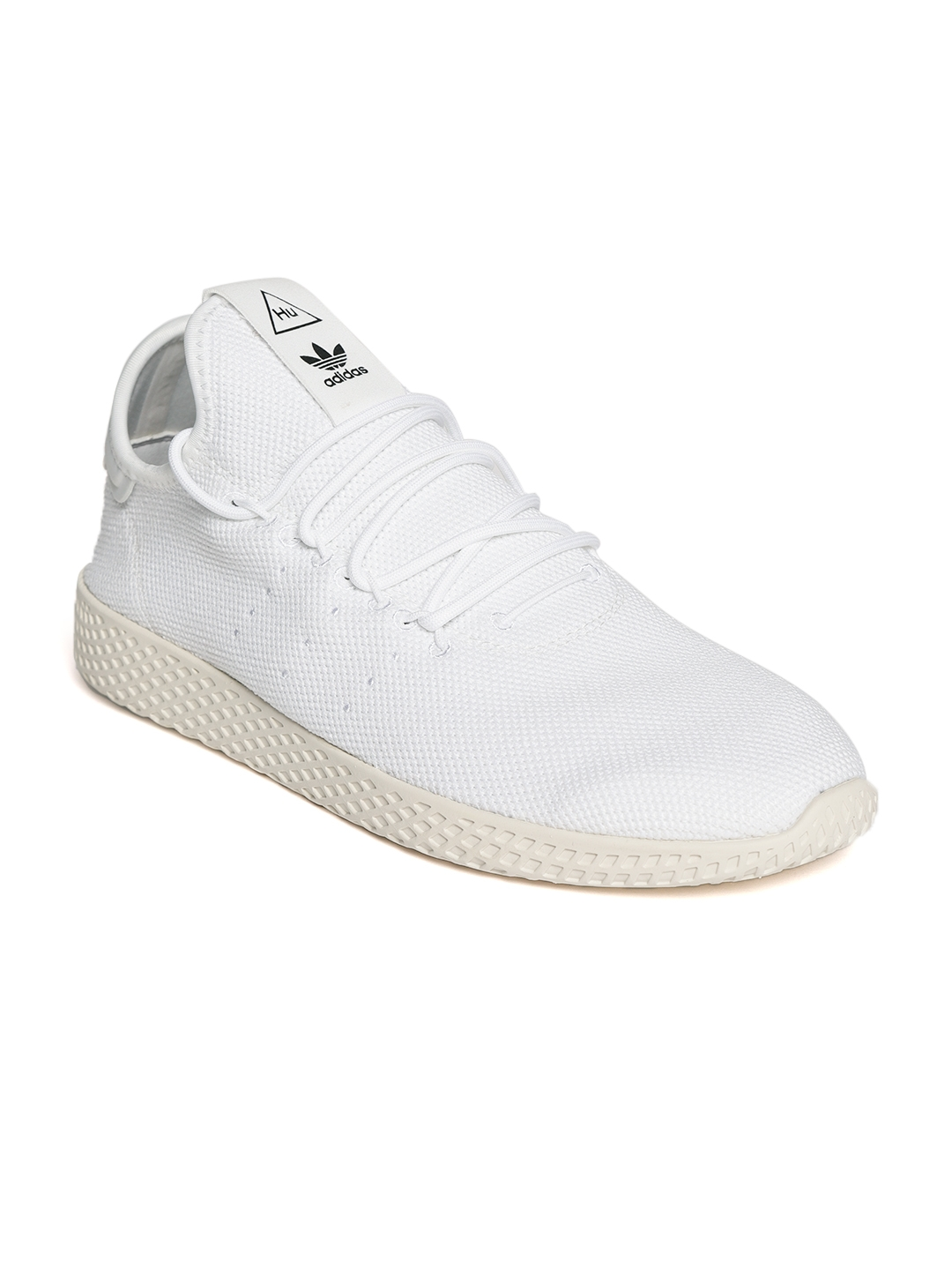 f5d3a812457b52 Buy ADIDAS Originals Men White Pharrell Williams HU Tennis Shoes ...