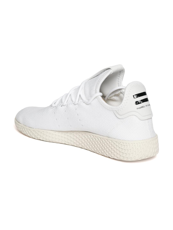 fe99aca89 Buy ADIDAS Originals Men White Pharrell Williams HU Tennis Shoes ...