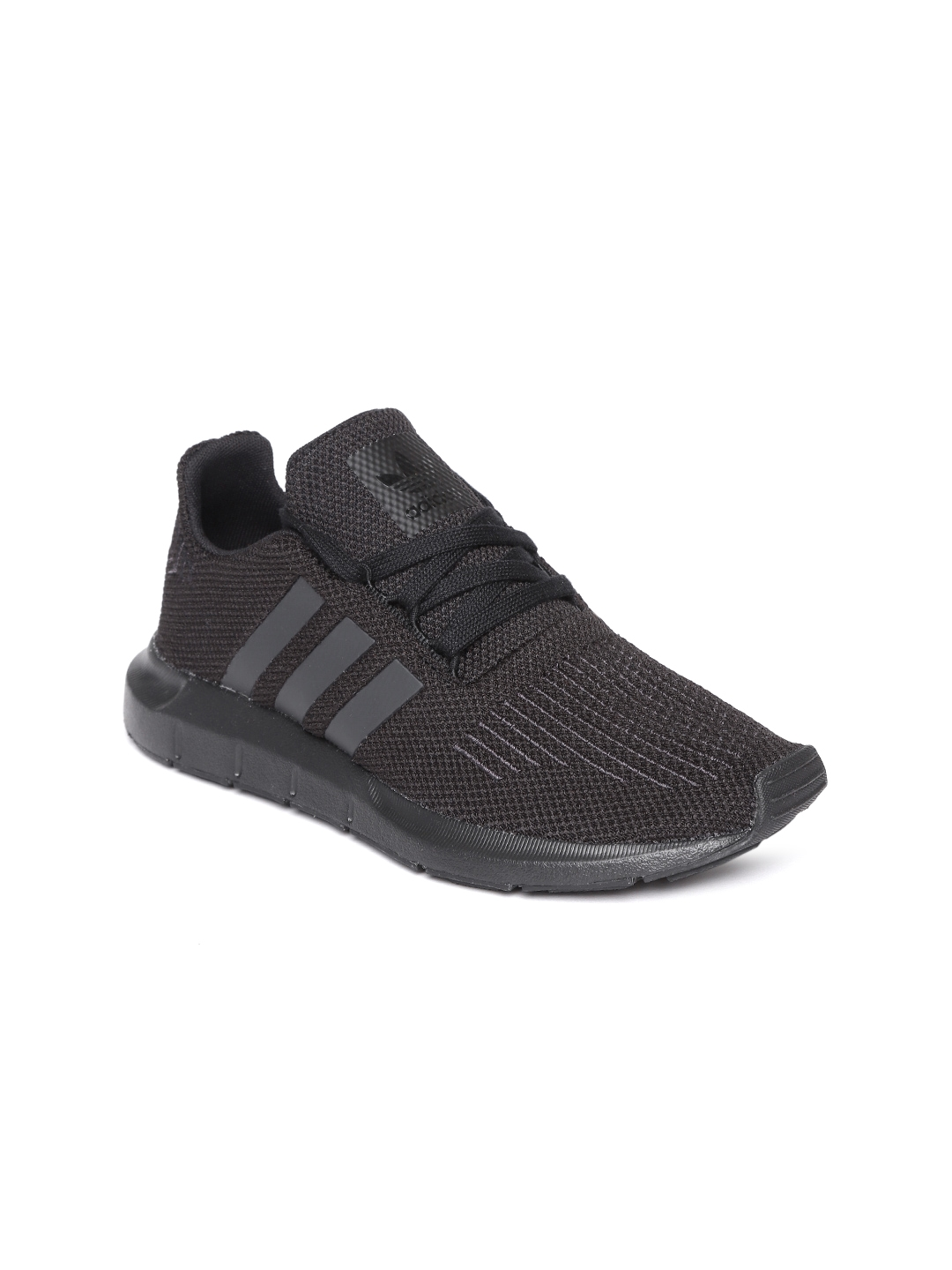 5c36578ec Buy ADIDAS Originals Kids Black Swift Run Sneakers - Casual Shoes ...