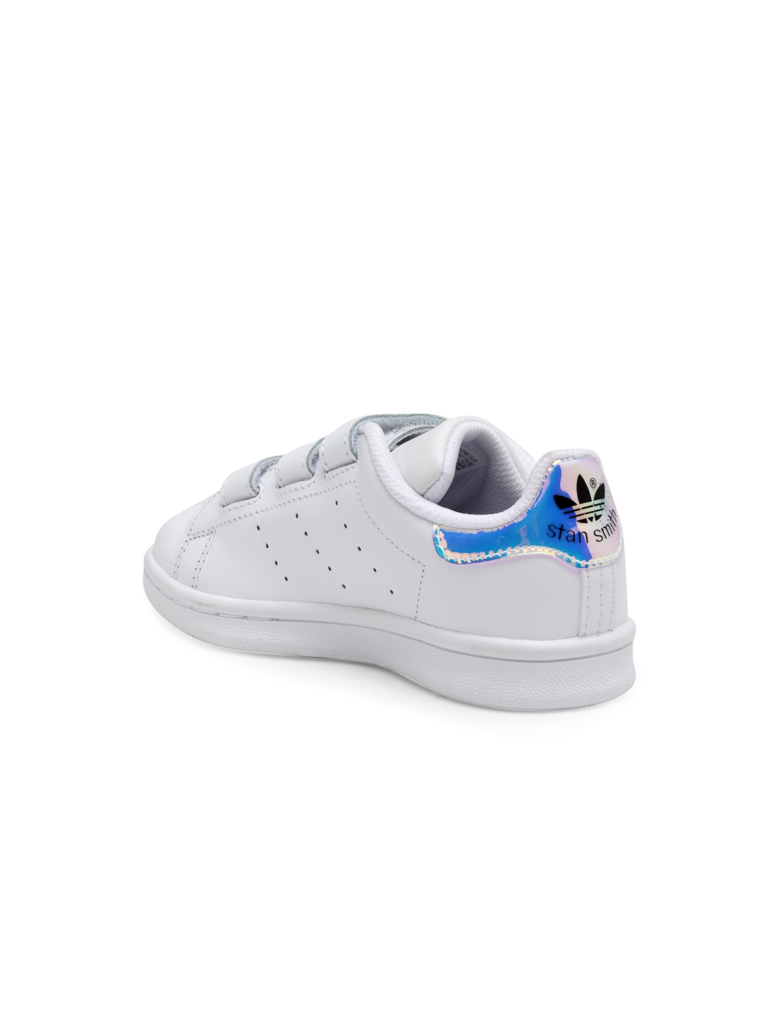 new product d67be 5ff79 ADIDAS Originals Kids White Stan Smith Cloudfoam C Sneakers