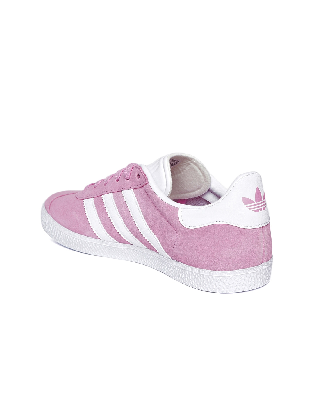 9a669900c97fa8 Buy ADIDAS Originals Kids Pink Gazelle Suede Sneakers - Casual Shoes ...