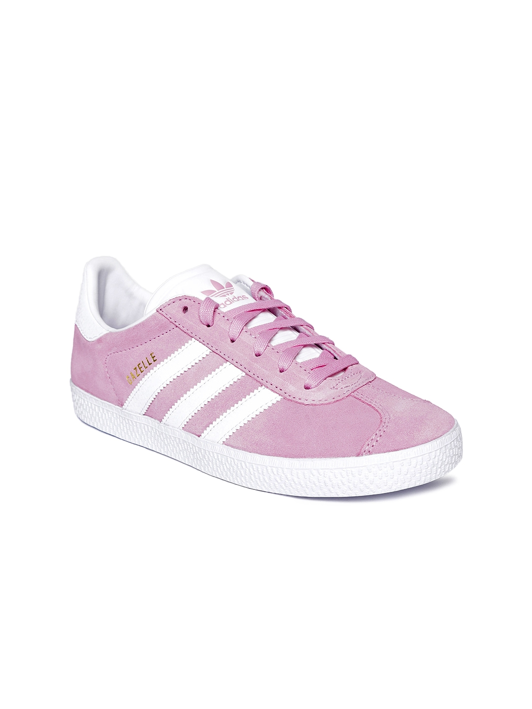b3dddc5130 Buy ADIDAS Originals Kids Pink Gazelle Suede Sneakers - Casual Shoes ...