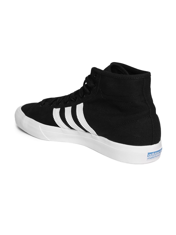 fc5bdcf08b6a9d Buy ADIDAS Originals Men Black Matchcourt High RX Skateboarding ...