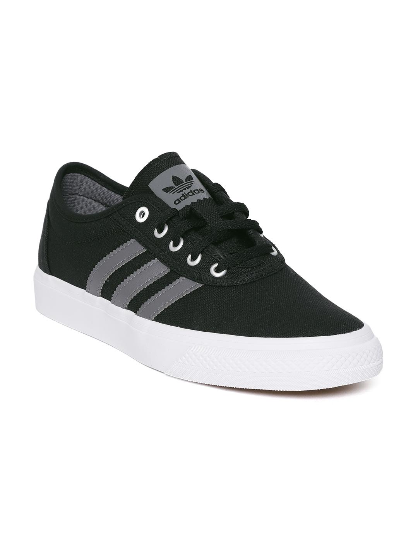 hot sale online e1e56 8ff2a ADIDAS Originals Men Black Adiease Sneakers