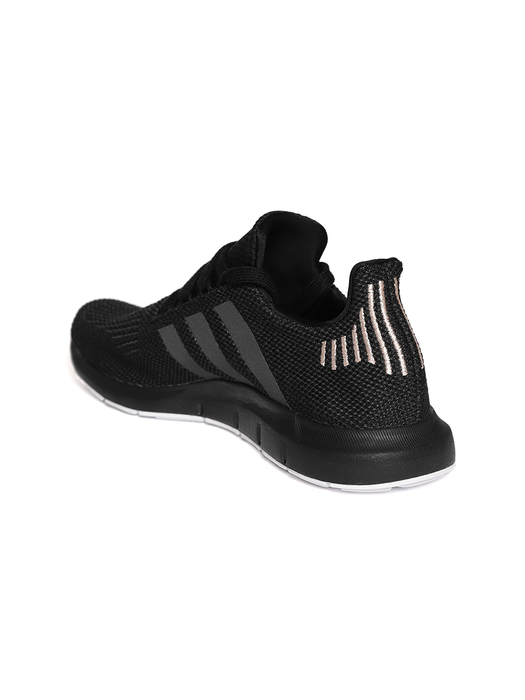 b4e78368aceac Buy ADIDAS Originals Women Black Swift Run Casual Shoes - Casual ...