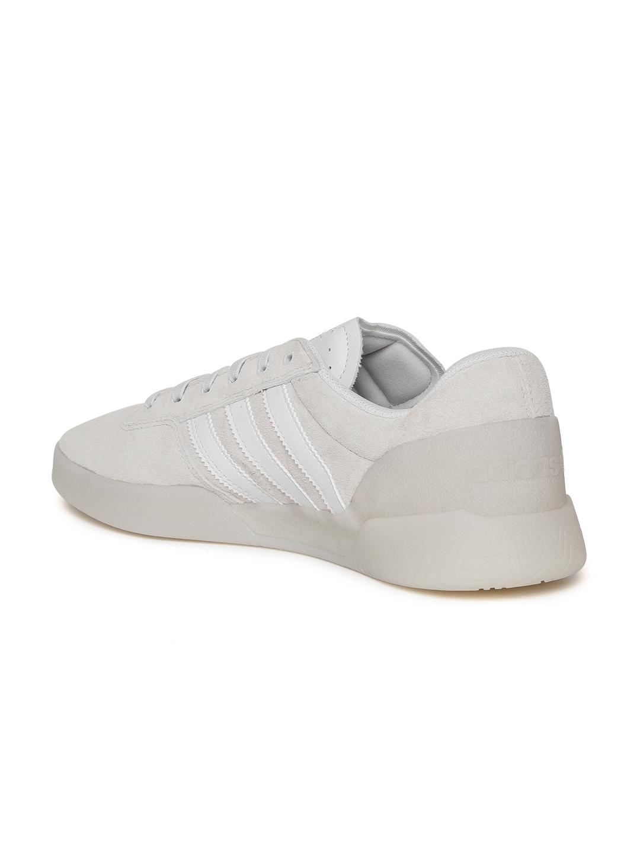 newest 7a2c3 3326e ADIDAS Originals Men Grey City Cup Skate Shoes
