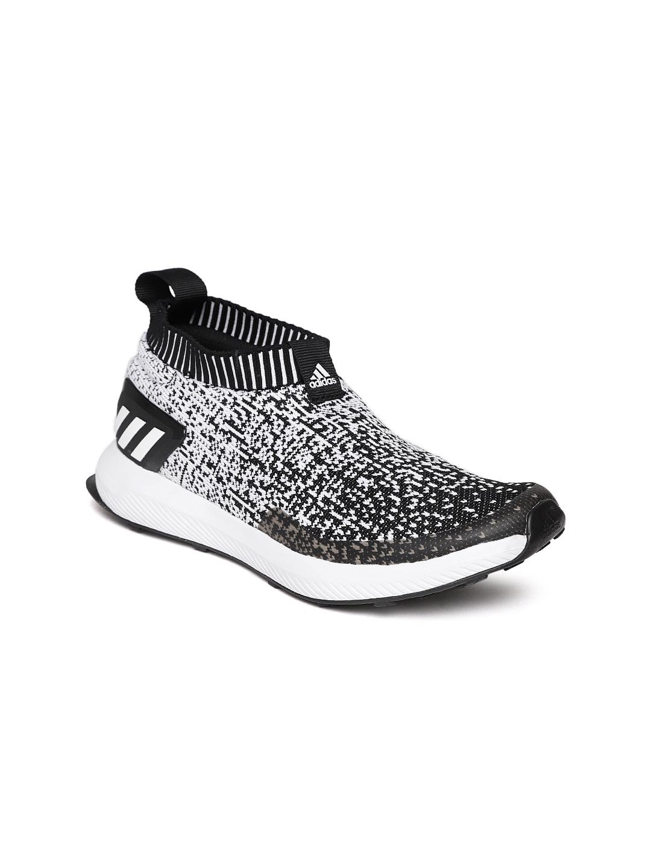 9c73e48e9cf0 Buy ADIDAS Kids Blue RapidaRun Laceless Knit Running Shoes - Sports ...