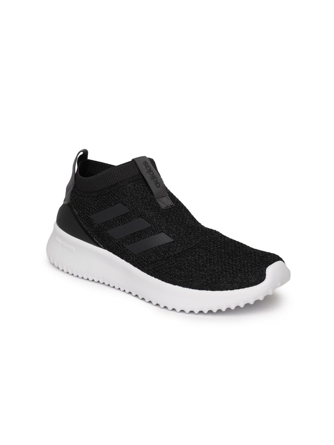 a7c600f68d44 Buy ADIDAS Women Black Solid Ultimafusion Mid Top Running Shoes ...
