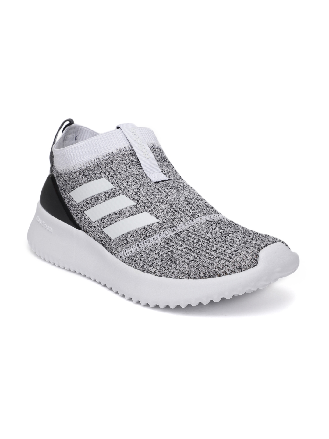 the best attitude 75a7a e4ffb ADIDAS Women White   Black ULTIMAFUSION Slip-on Running Shoes