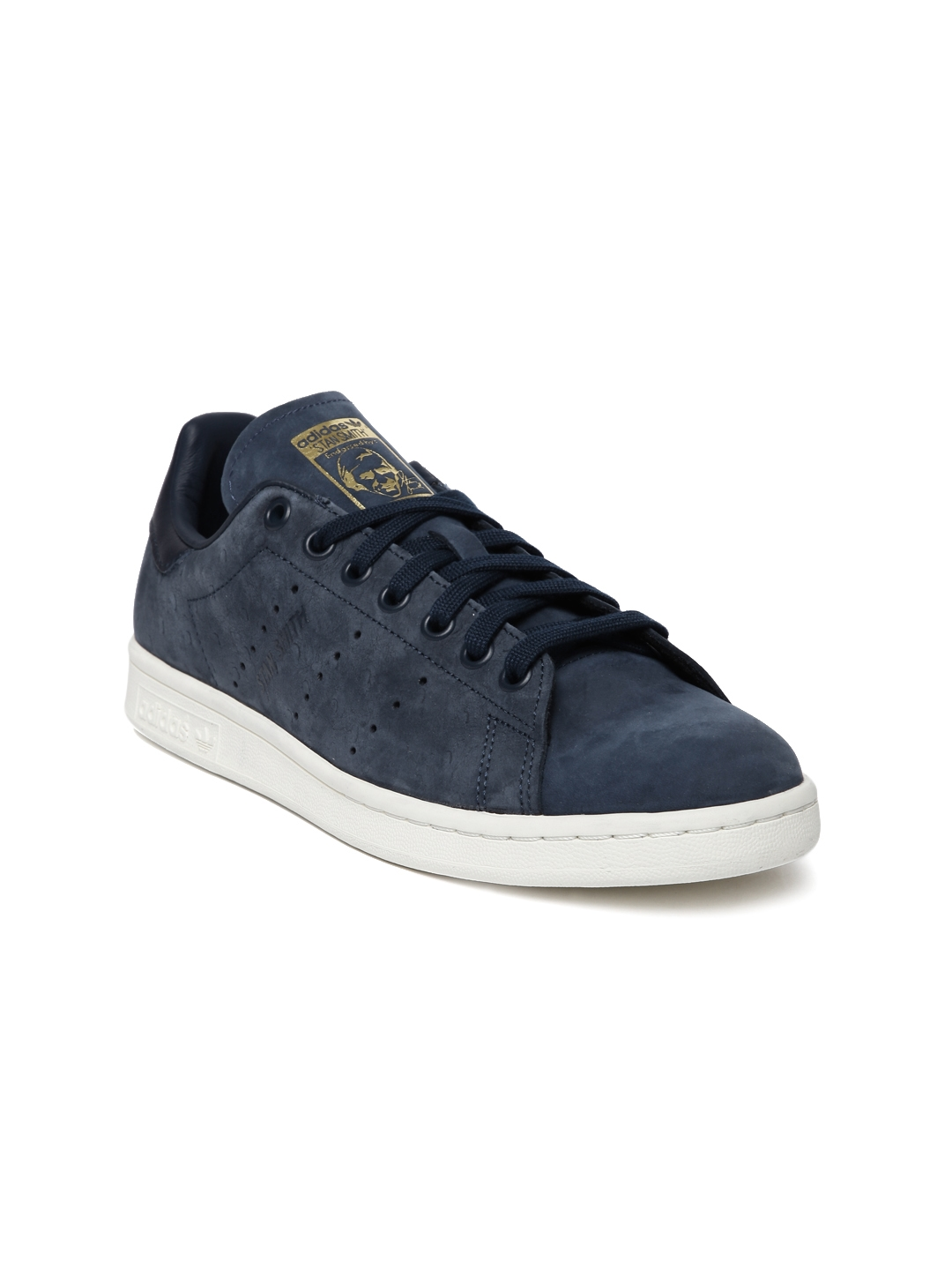 watch cde3f ce427 ADIDAS Originals Women Navy Blue STAN SMITH Sneakers