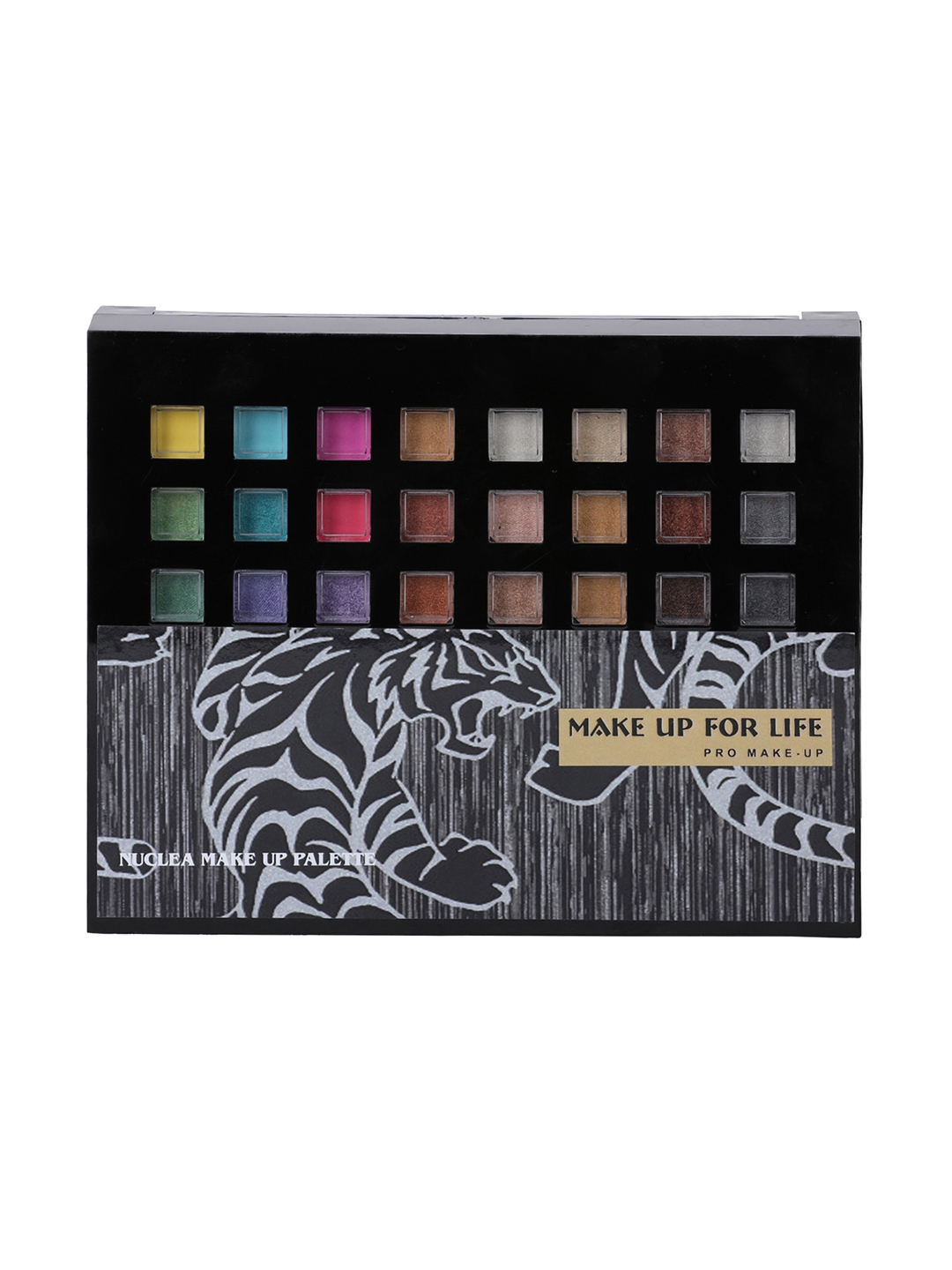 MAKE UP FOR LIFE Multicoloured Pro Make Up Nuclea Palette Kit