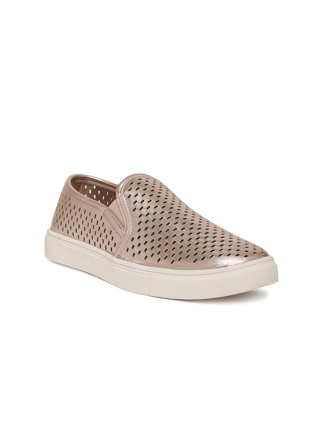 f8411af41cac Buy Steve Madden Women Rose Gold Slip On Sneakers - Casual Shoes for ...