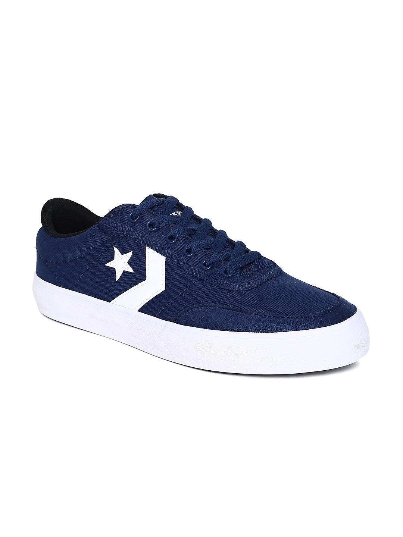 Buy Converse Unisex Navy Blue Sneakers