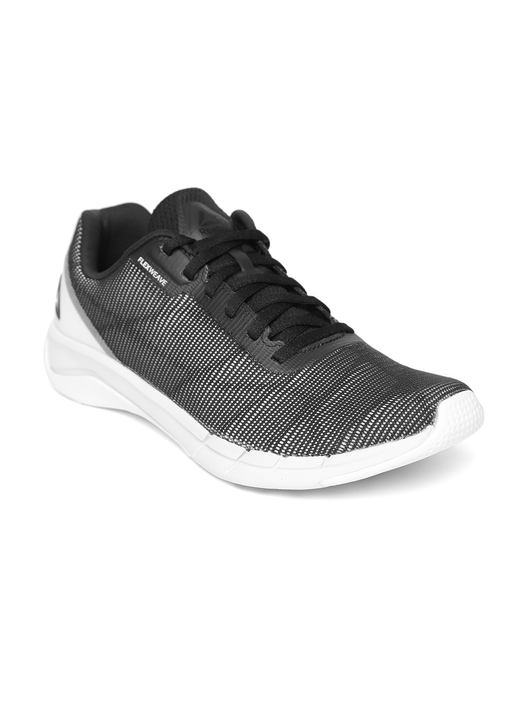 5ad19c5b6d44d9 Buy Reebok Men Black Fast Flexweave Running Shoes - Sports Shoes for ...