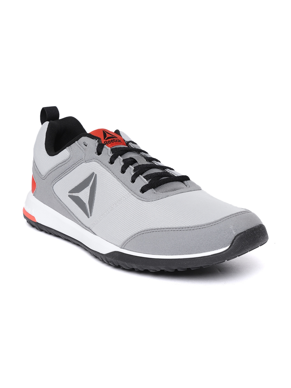 4ec24975a Buy Reebok Men Grey Training Or Gym Shoes - Sports Shoes for Men ...