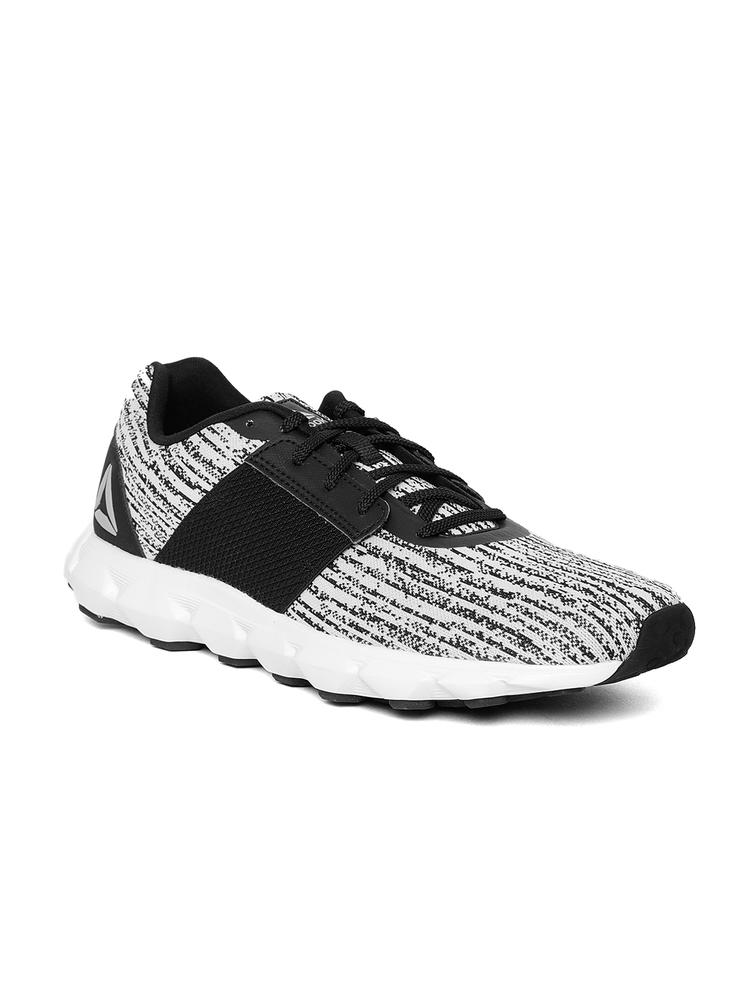 a2973e9c24ffd3 Buy Reebok Men White   Black City Scape LP Running Shoes - Sports ...