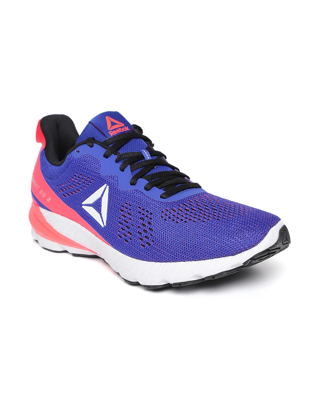 49fd66bf171c Buy Reebok Men Blue   Red OSR Sweet Road 2 Running Shoes - Sports ...