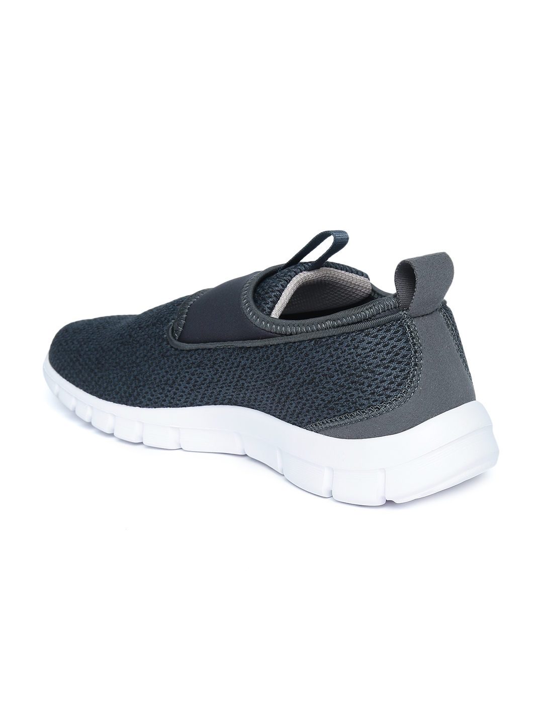 137a30d10ceb90 Buy Reebok Men Charcoal Grey TREAD WALK LITE LP Walking Slip On ...