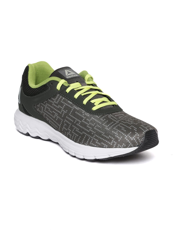4dc4de99fbe686 Buy Reebok Men Grey Zeal Running Shoes - Sports Shoes for Men ...