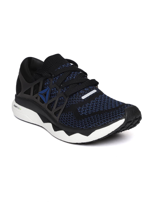 Buy Reebok Men Black   Blue Floatride Run ULTK Running Shoes ... 15ba9c9db