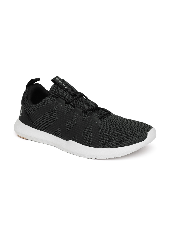 Buy Reebok Men Charcoal Black REAGO PULSE Training Shoes - Sports ... fc4b1d6d3