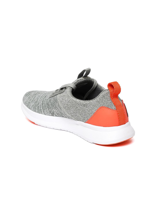 88efa2804129 Buy Reebok Women Grey Fringe LP Woven Design Running Shoes - Sports ...