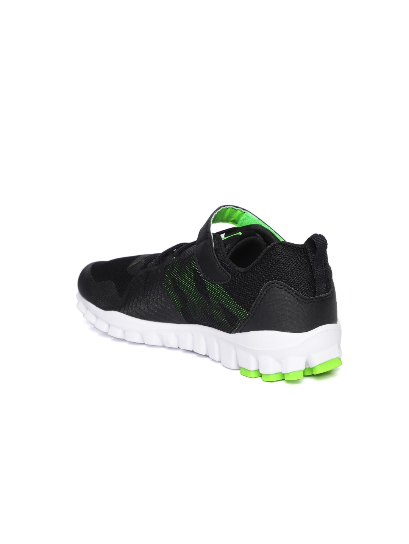 Buy Reebok Boys Black Realflex 5.0 ALT Training Shoes - Sports Shoes ... 1b6e64bff