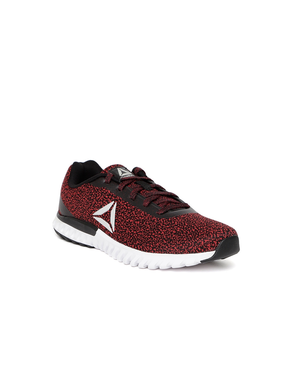 7e30268333 Buy Reebok Boys Red & Black Harmony Woven Design Running Shoes ...