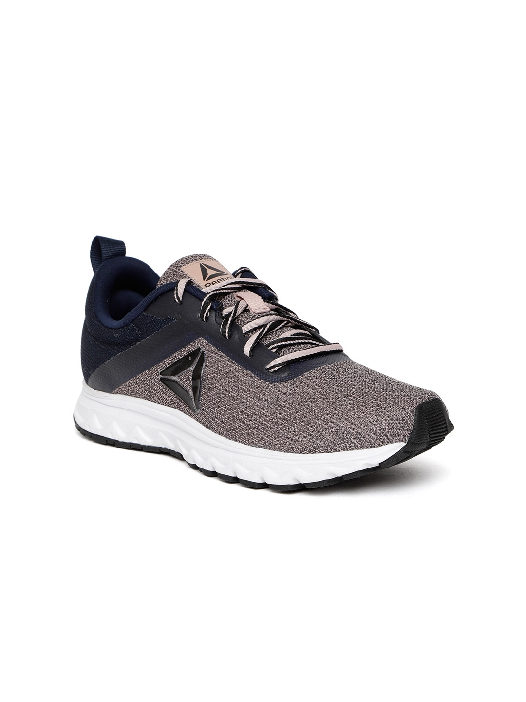 a0695fef5b9 Buy Reebok Women Pink   Navy Blue Flyer Run LP Shoes - Sports Shoes ...