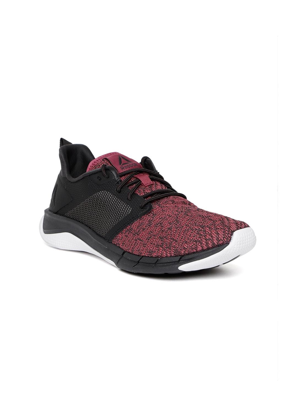 b758477498d8 Buy Reebok Women Pink   Black Print Run 3.0 Shoes - Sports Shoes for ...