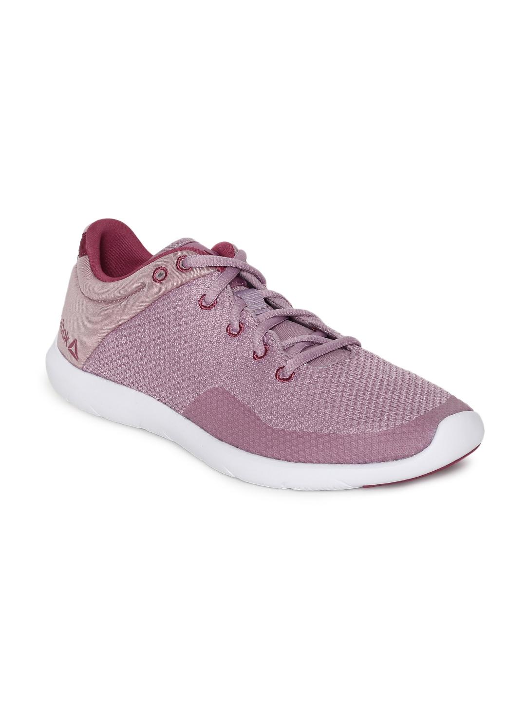 Buy Reebok Women STUDIO BASICS Mauve Sports Shoes - Sports Shoes for ... 786529302