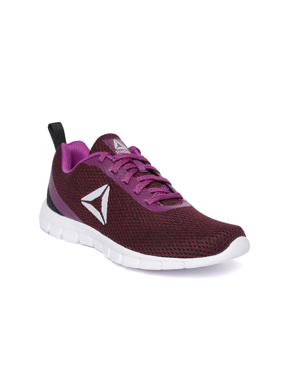 b77fdca2fa2 Buy Reebok Women Burgundy Zoom Runner LP Running Shoes - Sports ...
